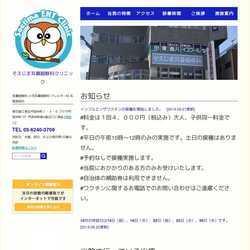 東京都江東区耳鼻咽喉科、気管食道科、アレルギー科、小児耳鼻咽喉科